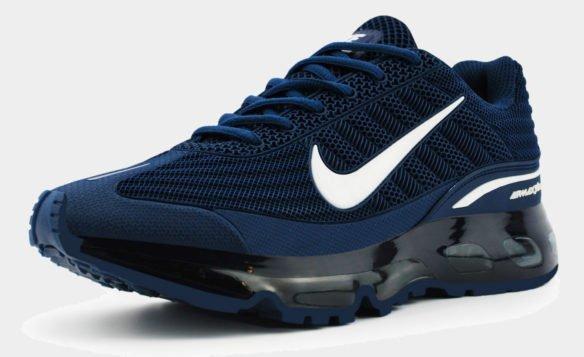 Nike Air Max 360 синие с белым
