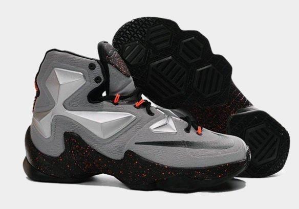 Фото Nike LeBron 13 Lava серые - 3