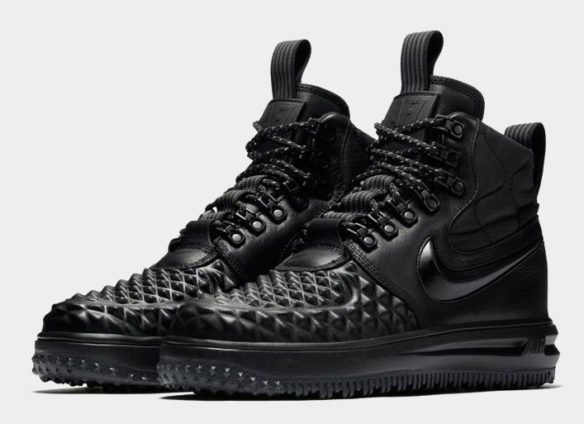 Фото Nike Lunar Force 1 Duckboot черные - 1
