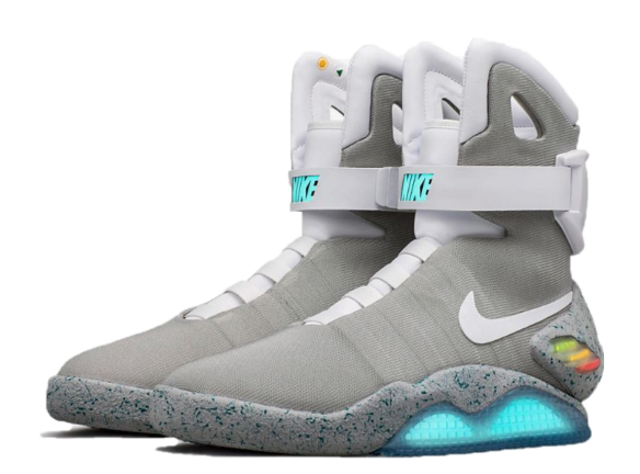 Фото Nike Mags from Back to the Future серые - 3