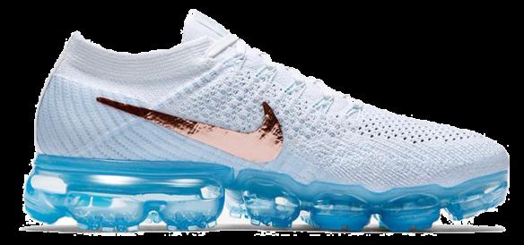 Фото Nike Air VaporMax Flyknit Белые - 3