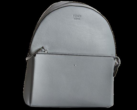 Фото серный кожаный рюкзак - 1